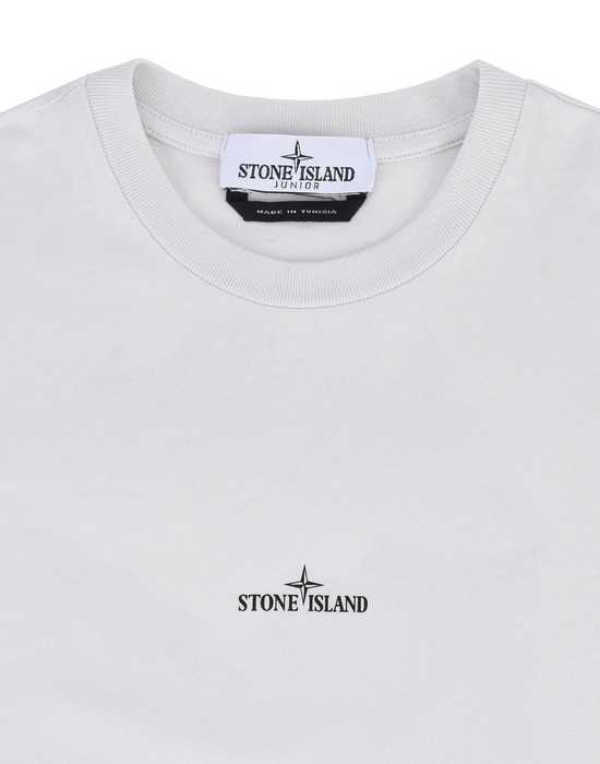 12153576he - Polo - T-Shirts STONE ISLAND JUNIOR