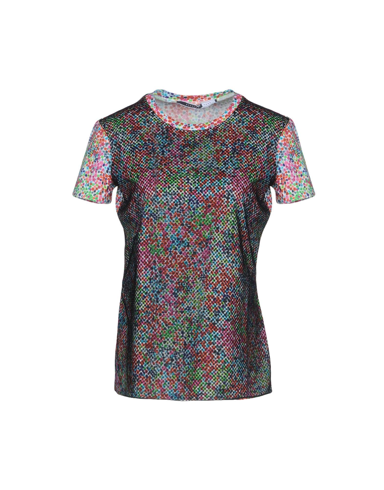 SPORTMAX CODE Damen T-shirts Farbe Schwarz Größe 3