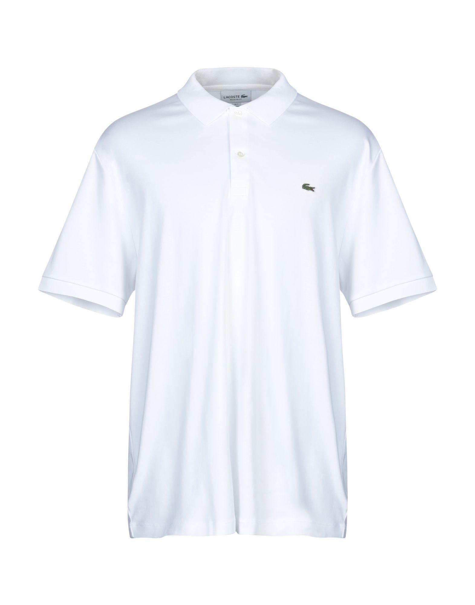 《送料無料》LACOSTE メンズ スウェットシャツ ホワイト 7 コットン 100%