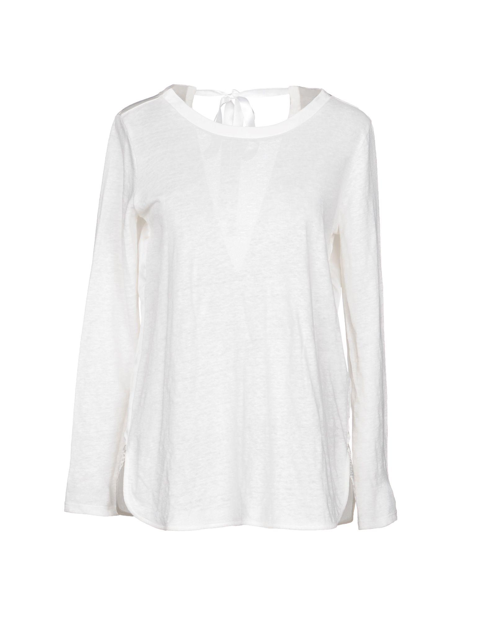 SANDRO PARIS T-Shirt in Ivory
