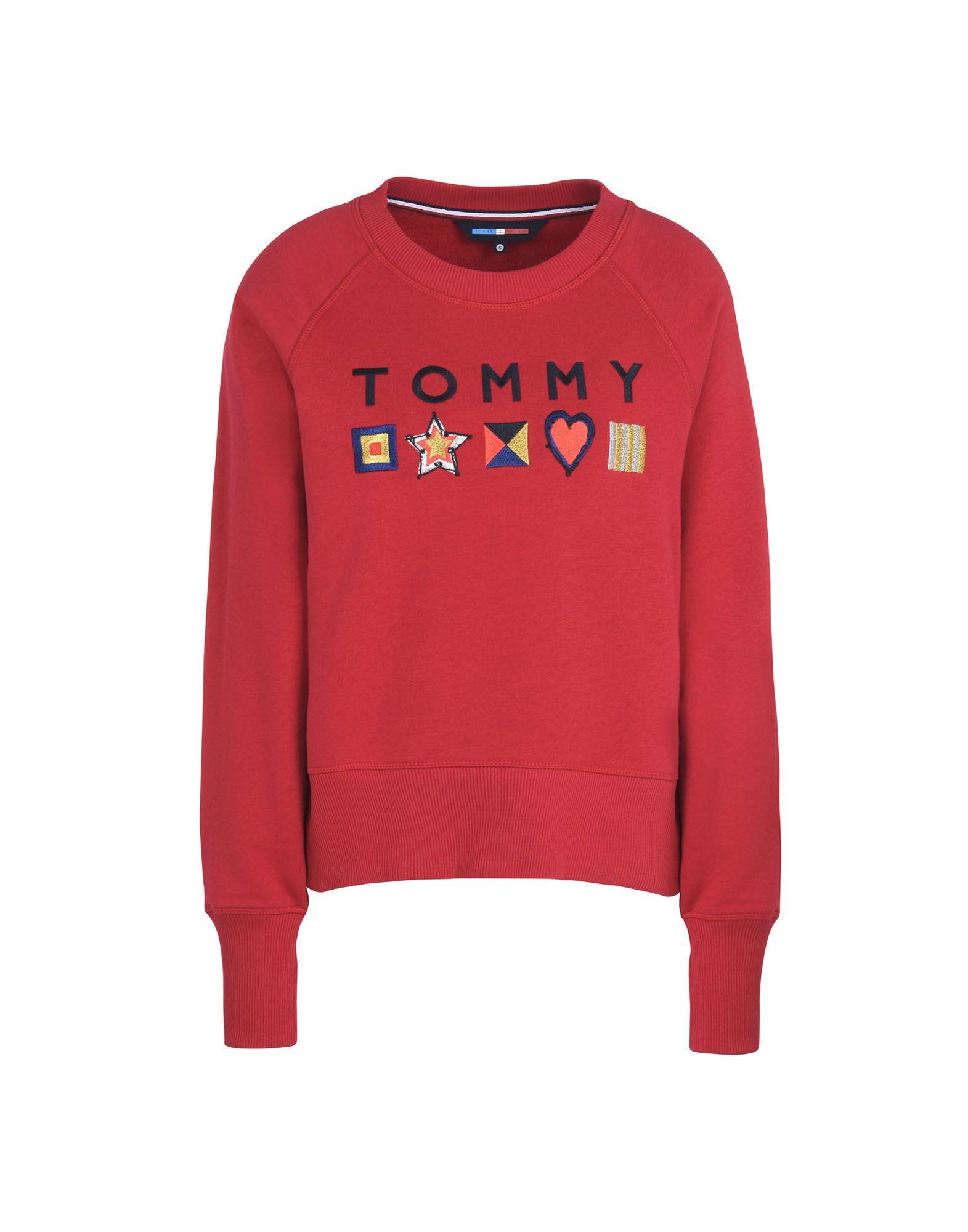 TOMMY HILFIGER Толстовка толстовка tommy hilfiger mw0mw04089 403 sky captain
