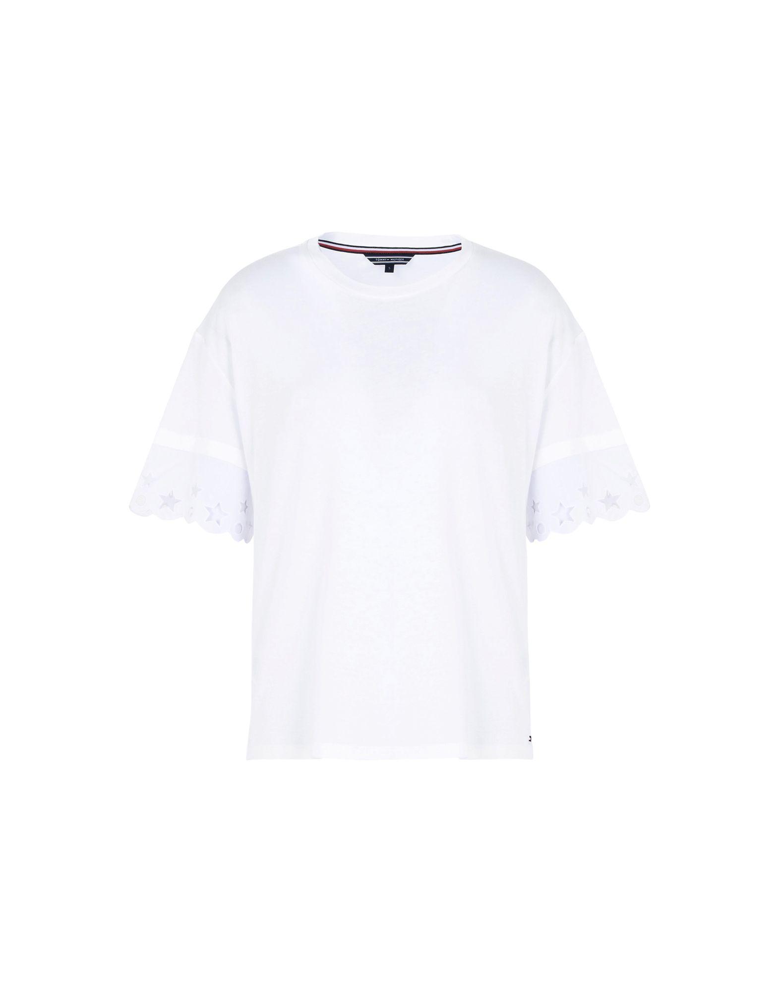 TOMMY HILFIGER Футболка футболка tommy hilfiger mw0mw05033 501 cloud htr