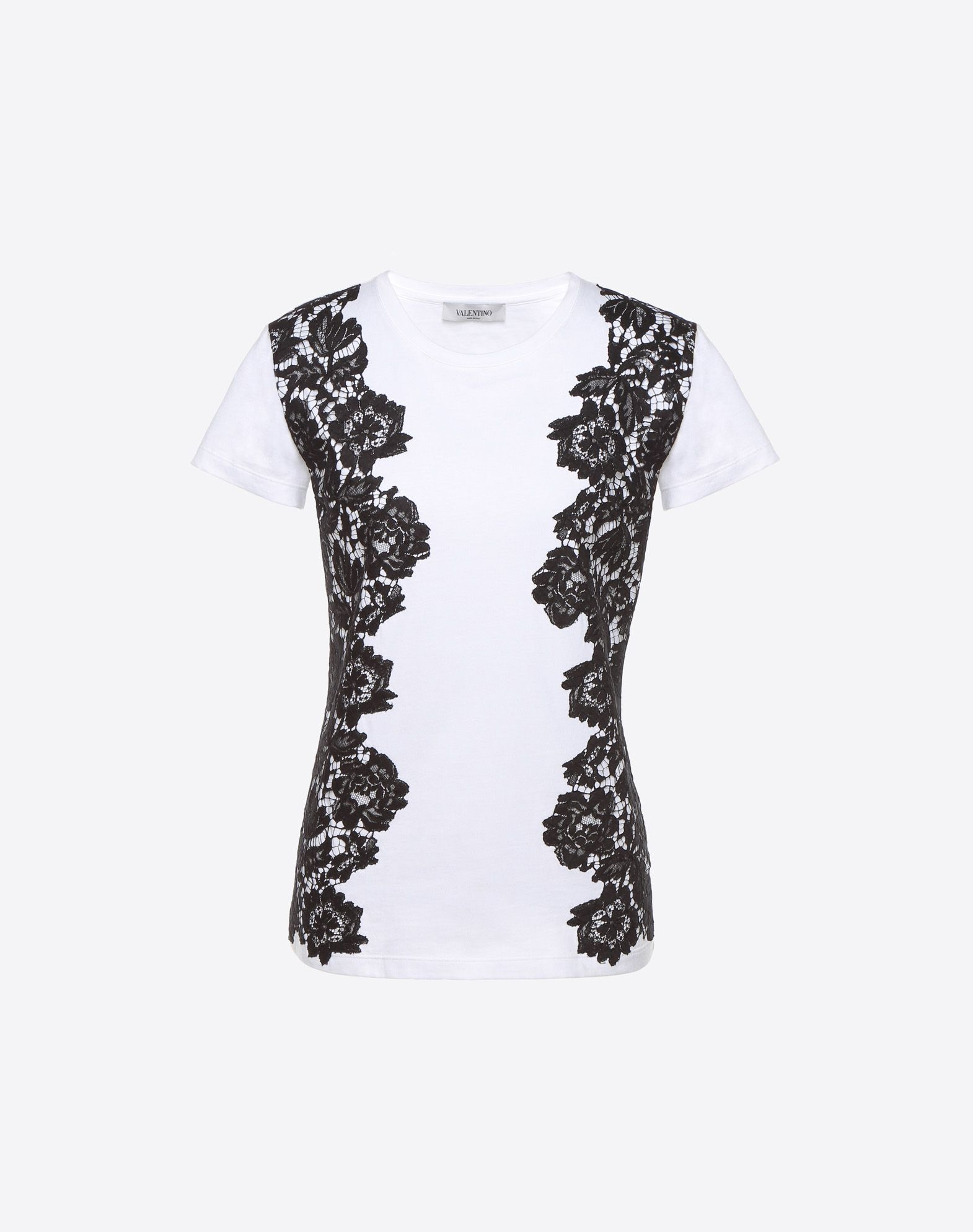 Heavy lace T-shirt