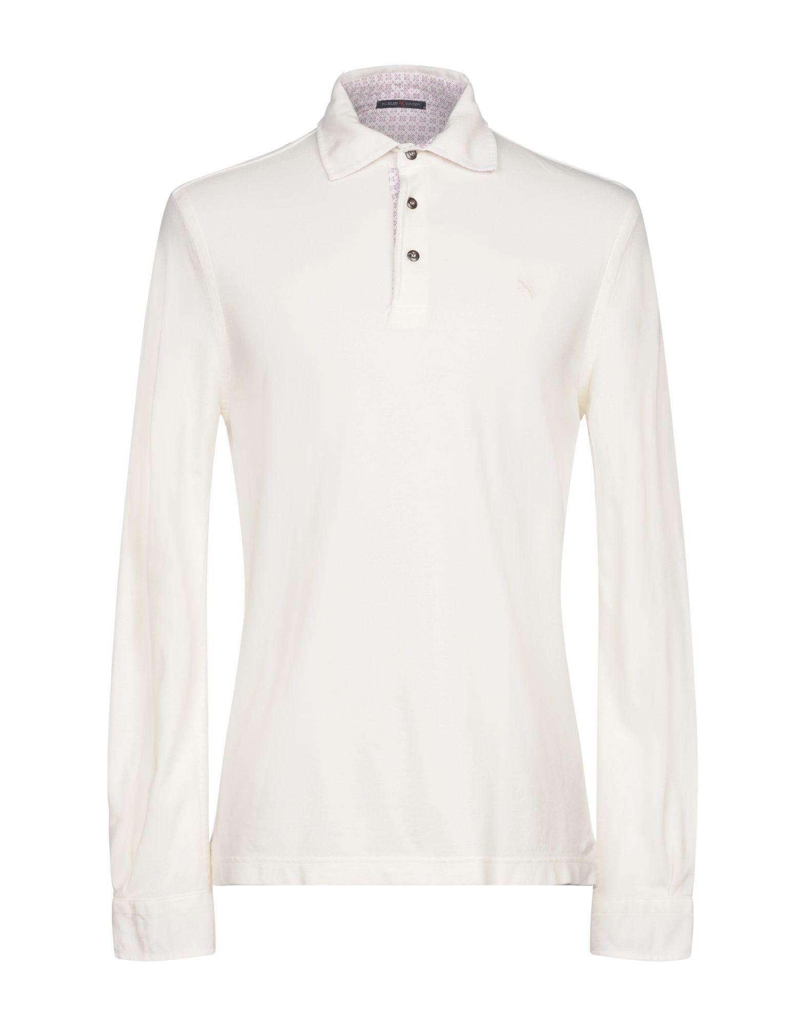 《セール開催中》PAL ZILERI CONCEPT メンズ ポロシャツ アイボリー 50 コットン 100%