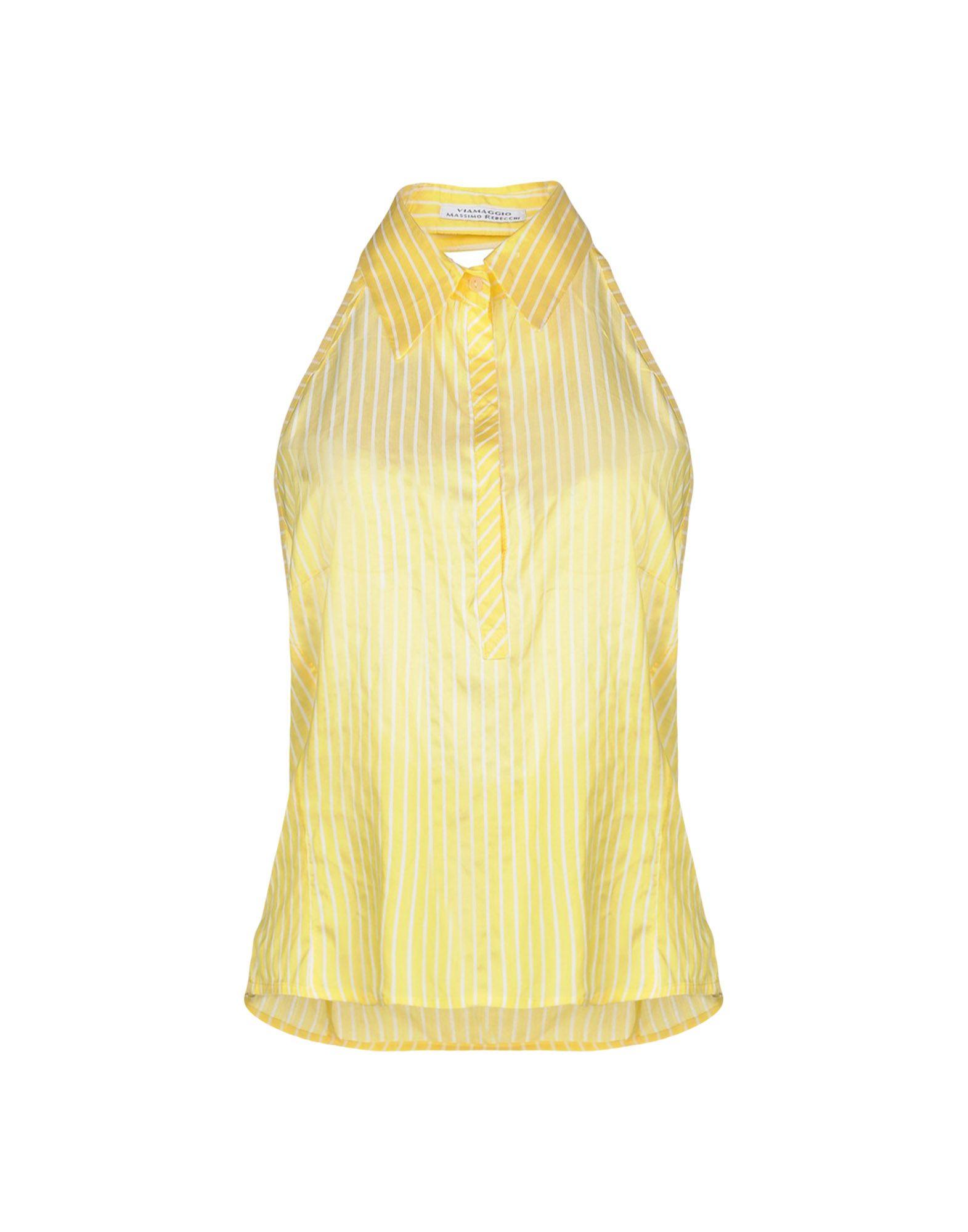 VIAMAGGIO MASSIMO REBECCHI Топ без рукавов viamaggio massimo rebecchi платье длиной 3 4