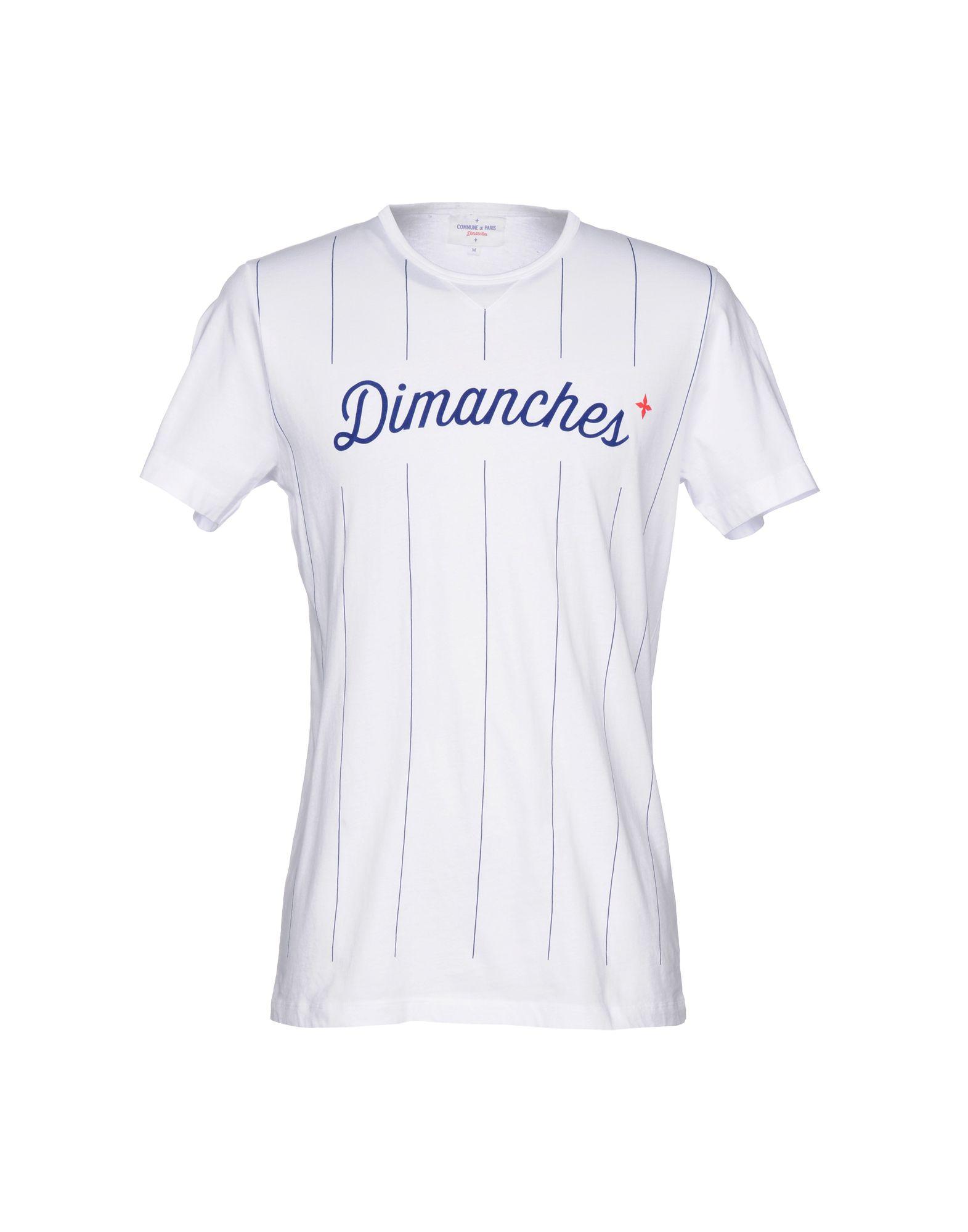 COMMUNE DE PARIS 1871 + DIMANCHES Футболка