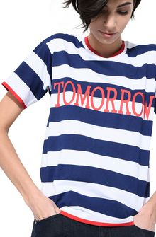 ALBERTA FERRETTI Tomorrow T-shirt TOPWEAR Woman a