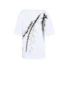 ALBERTA FERRETTI Hand-painted T-shirt T-shirt Woman e
