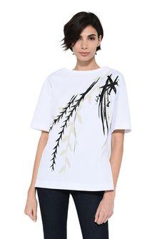 ALBERTA FERRETTI Hand-painted T-shirt T-shirt Woman r