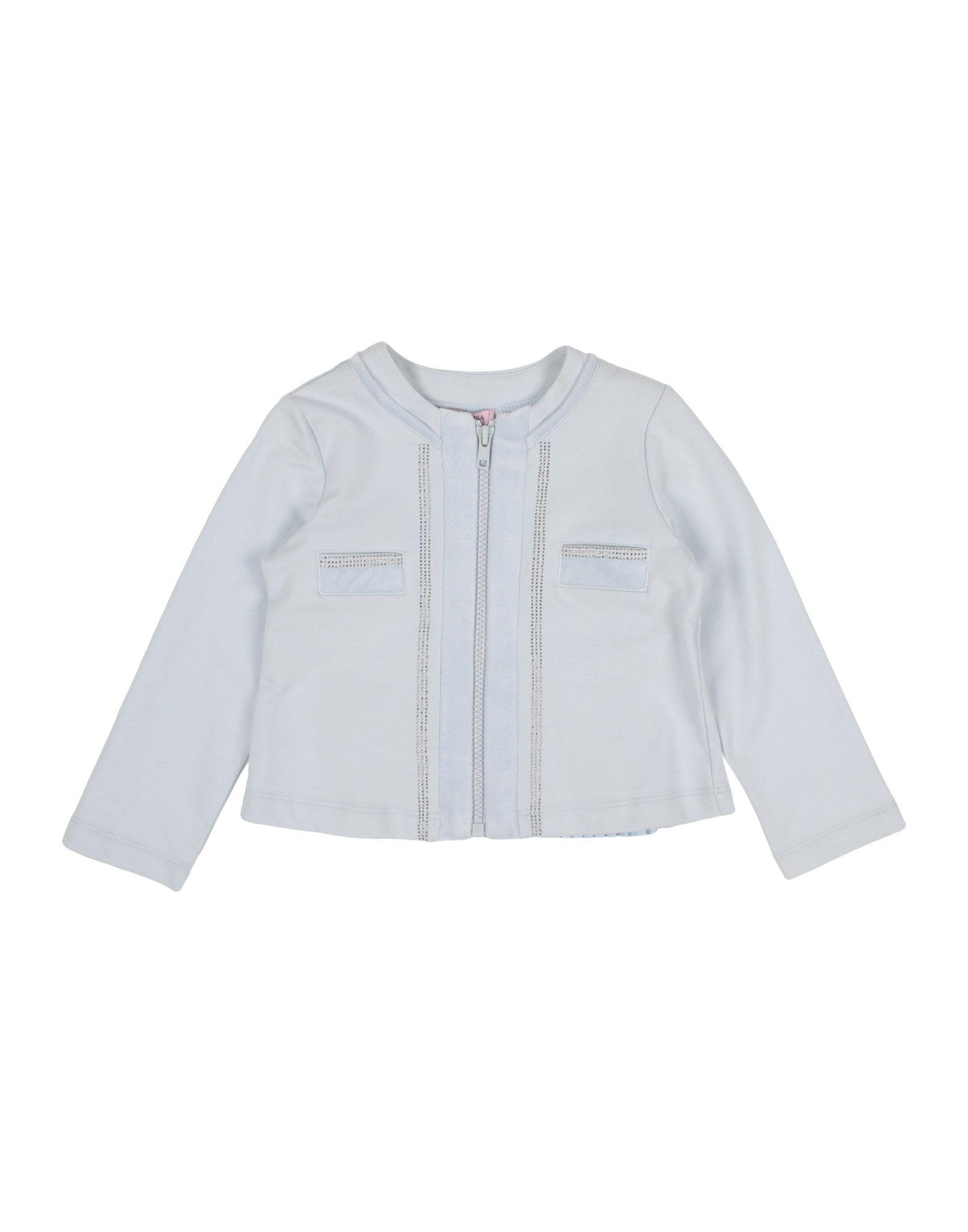 MONNALISA Sweatshirt in Sky Blue