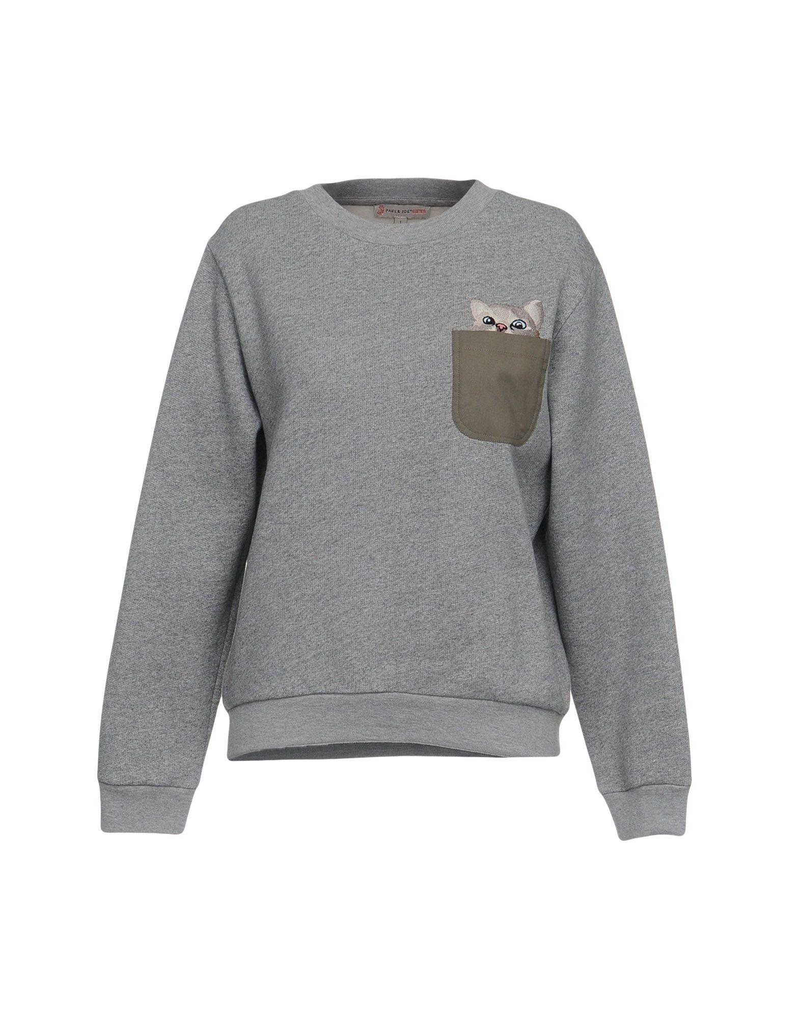 PAUL & JOE SISTER Sweatshirt in Light Grey