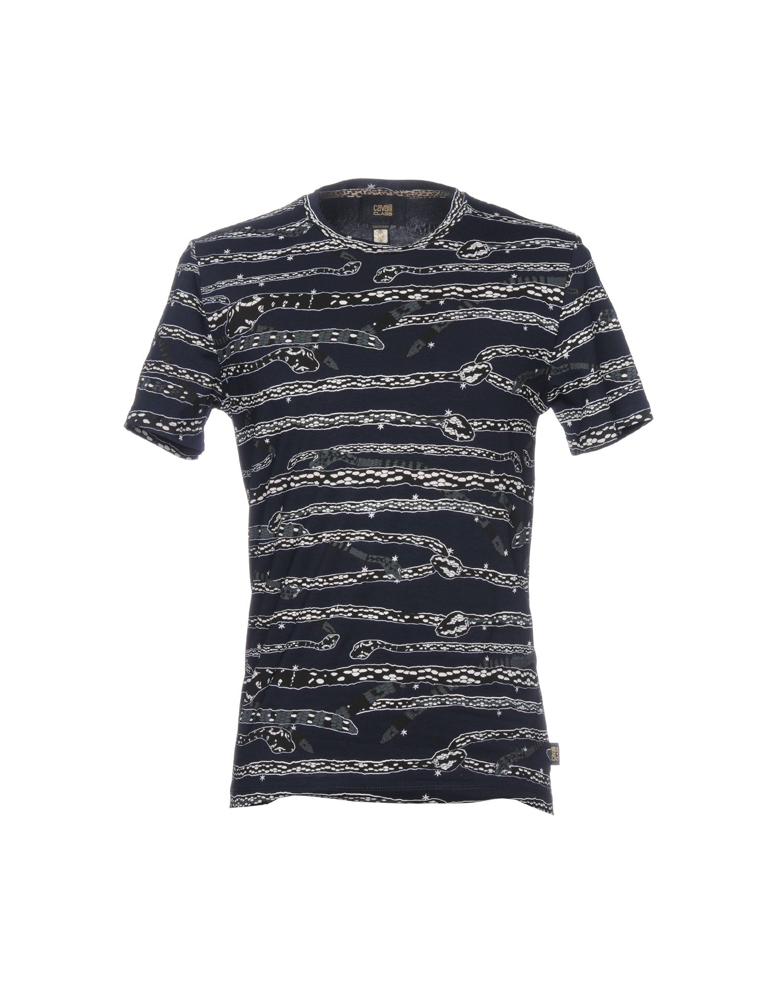 CLASS ROBERTO CAVALLI T-Shirt in Dark Blue