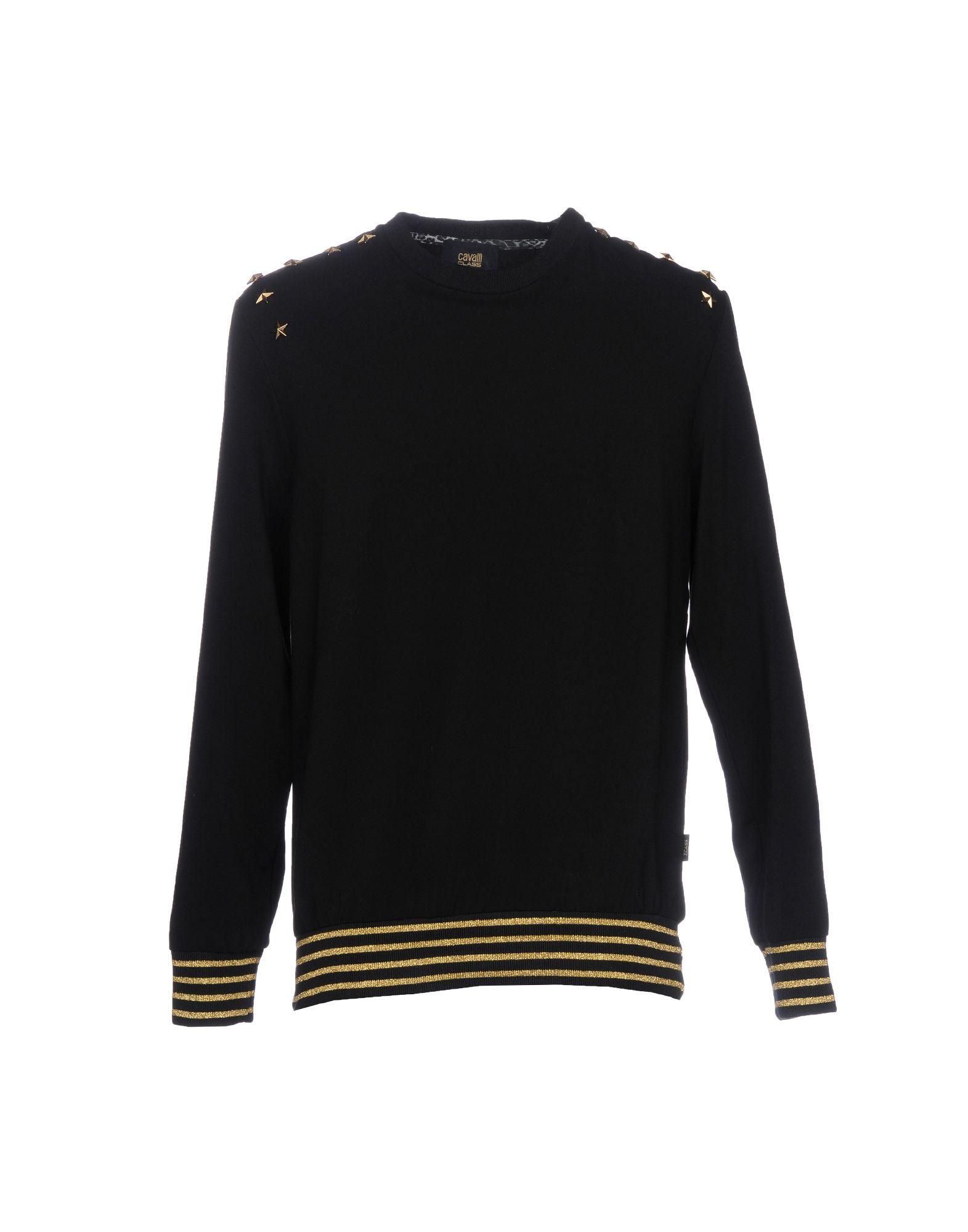 CLASS ROBERTO CAVALLI Sweatshirt in Black