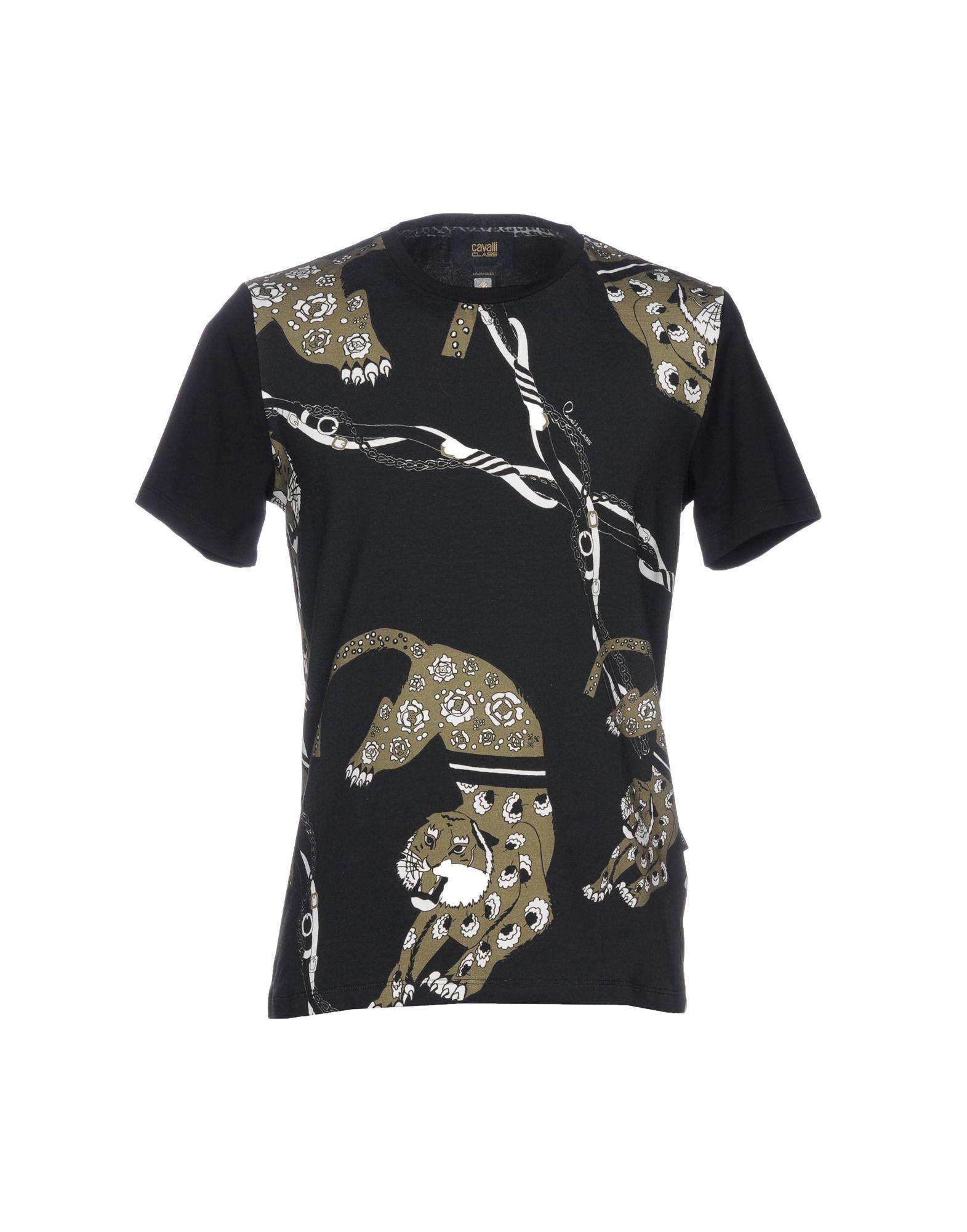 CLASS ROBERTO CAVALLI T-Shirt in Steel Grey