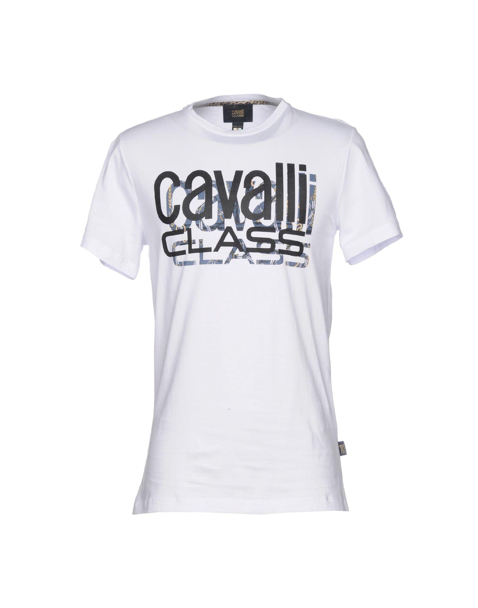 CLASS ROBERTO CAVALLI T-Shirt in White