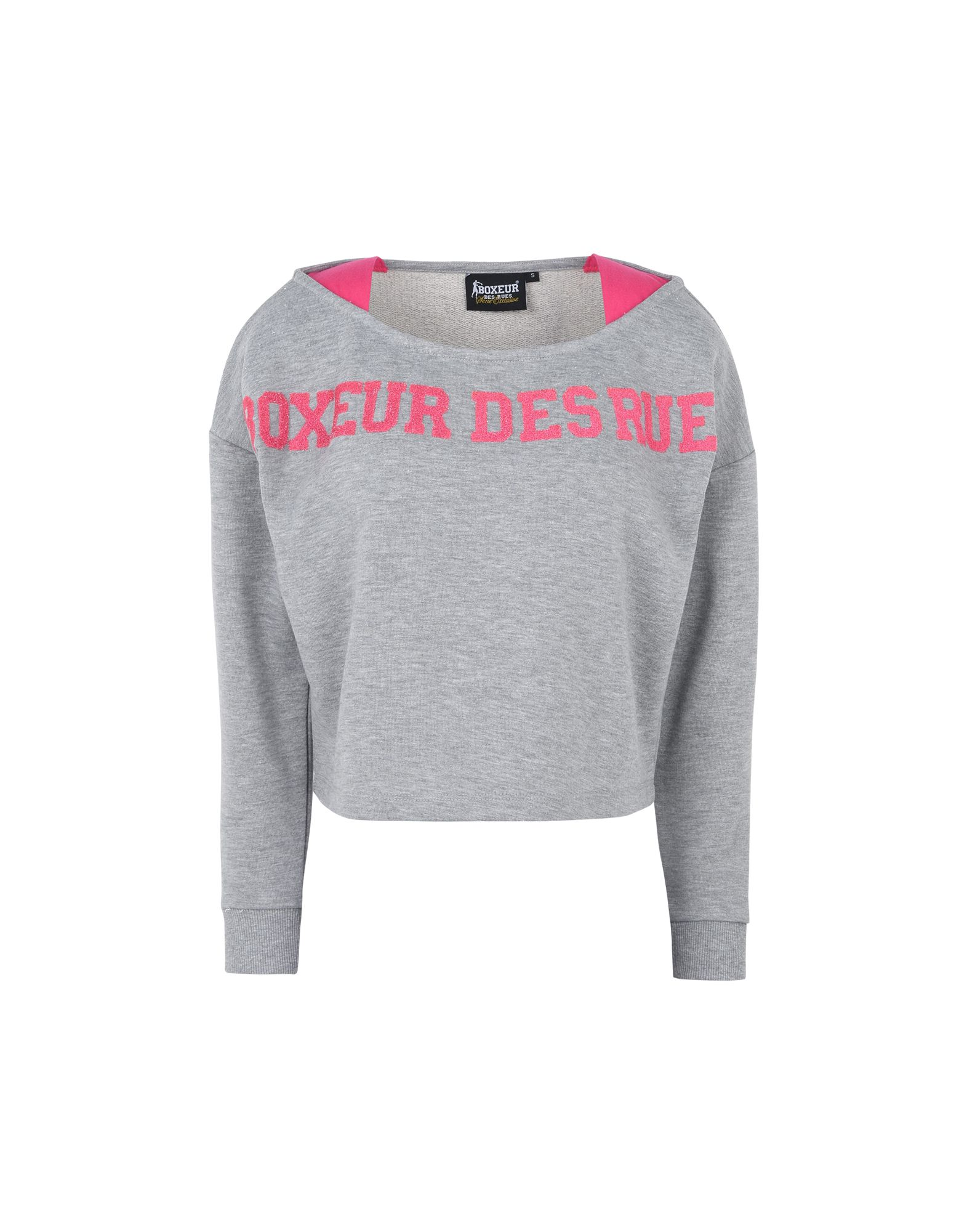 BOXEUR DES RUES Technical Sweatshirts And Sweaters in Grey