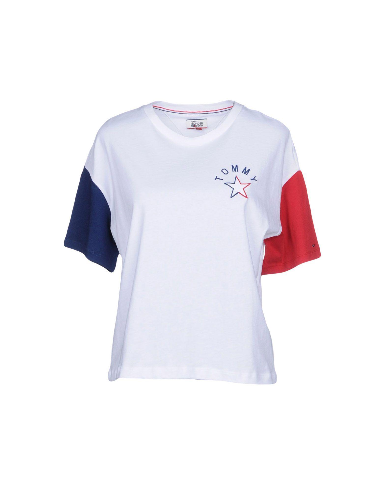 TOMMY HILFIGER DENIM Футболка футболка tommy hilfiger denim tommy hilfiger denim to013emtoz57