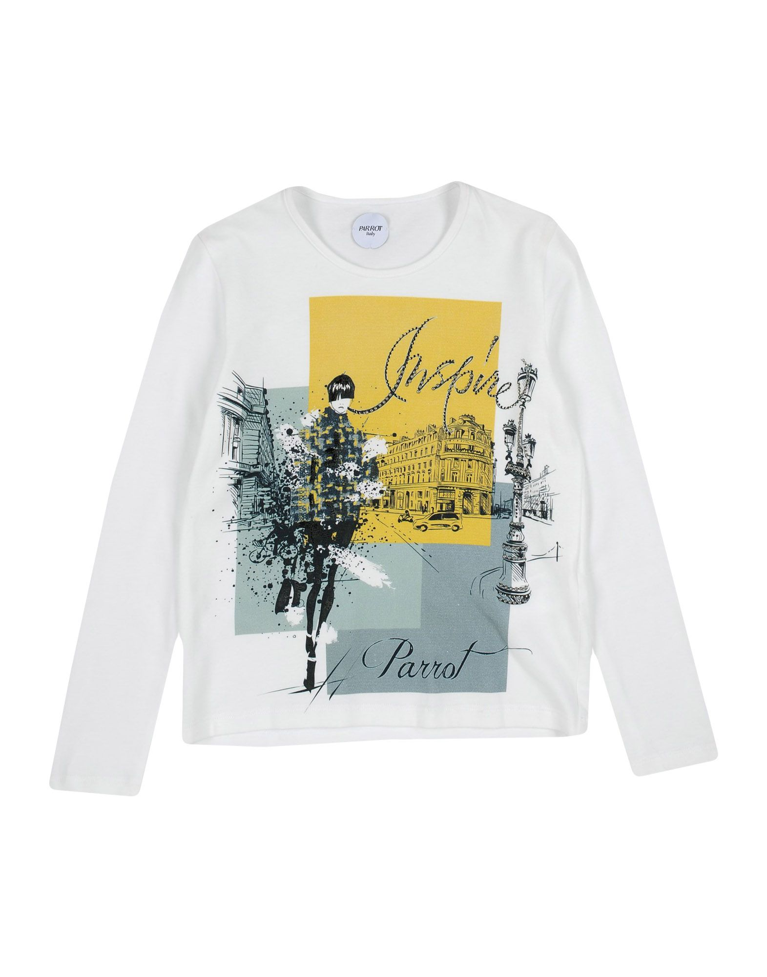 PARROT T-Shirt in White