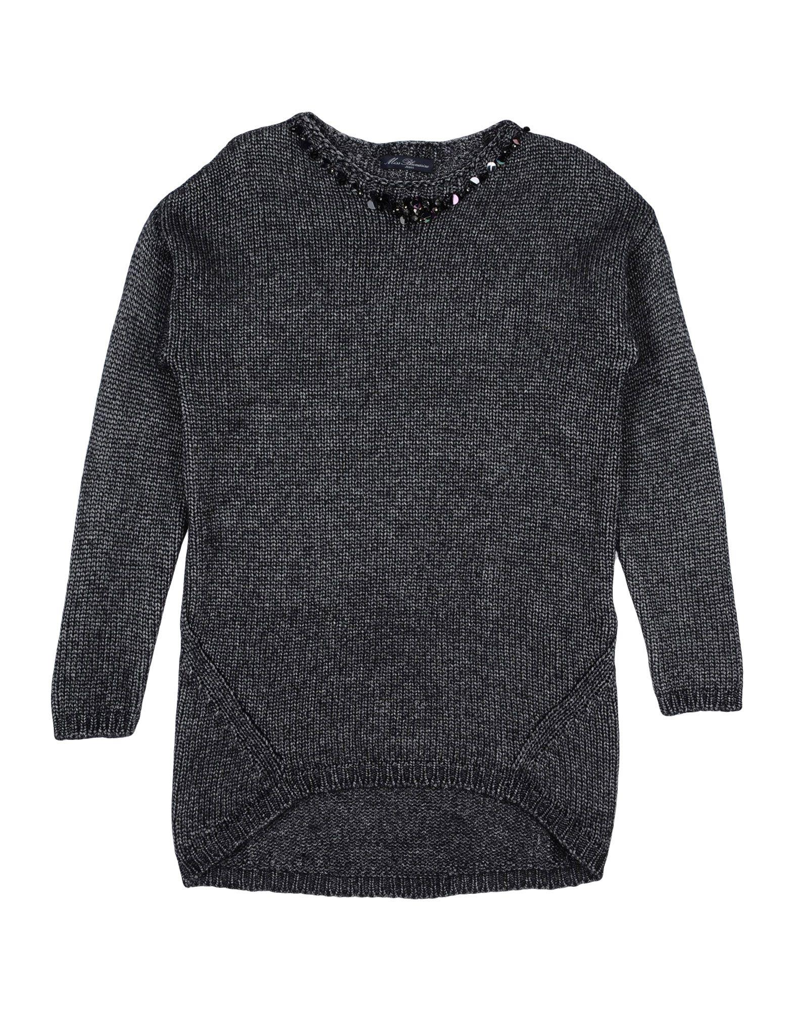 MISS BLUMARINE Sweater in Steel Grey