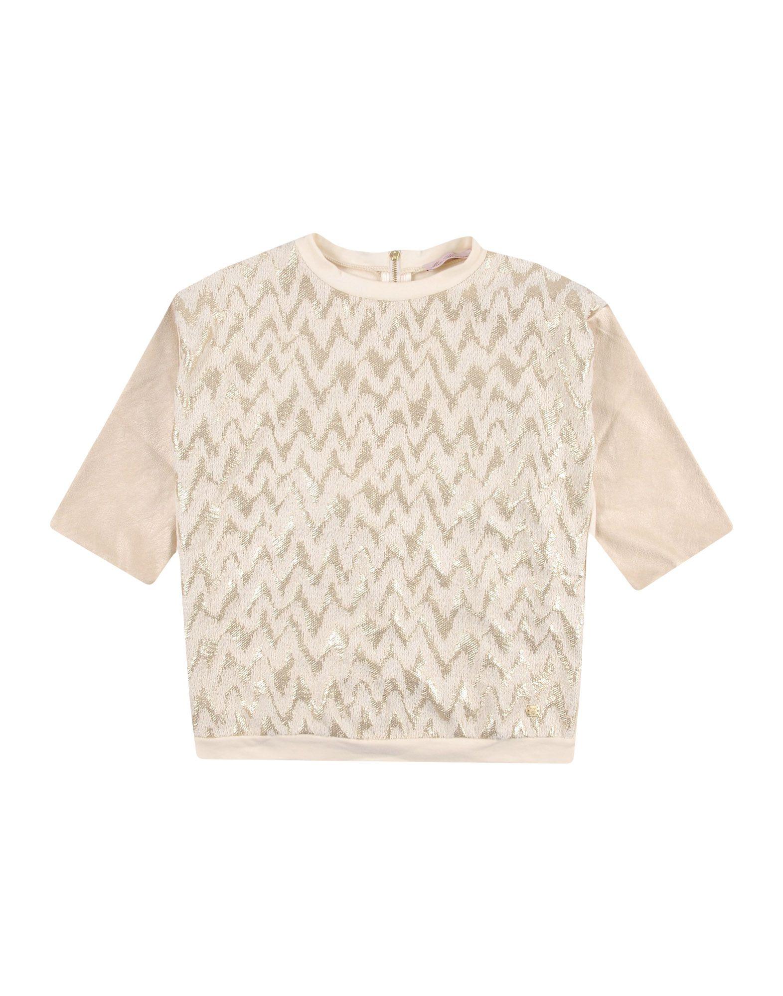 MISS BLUMARINE Sweatshirt in Beige
