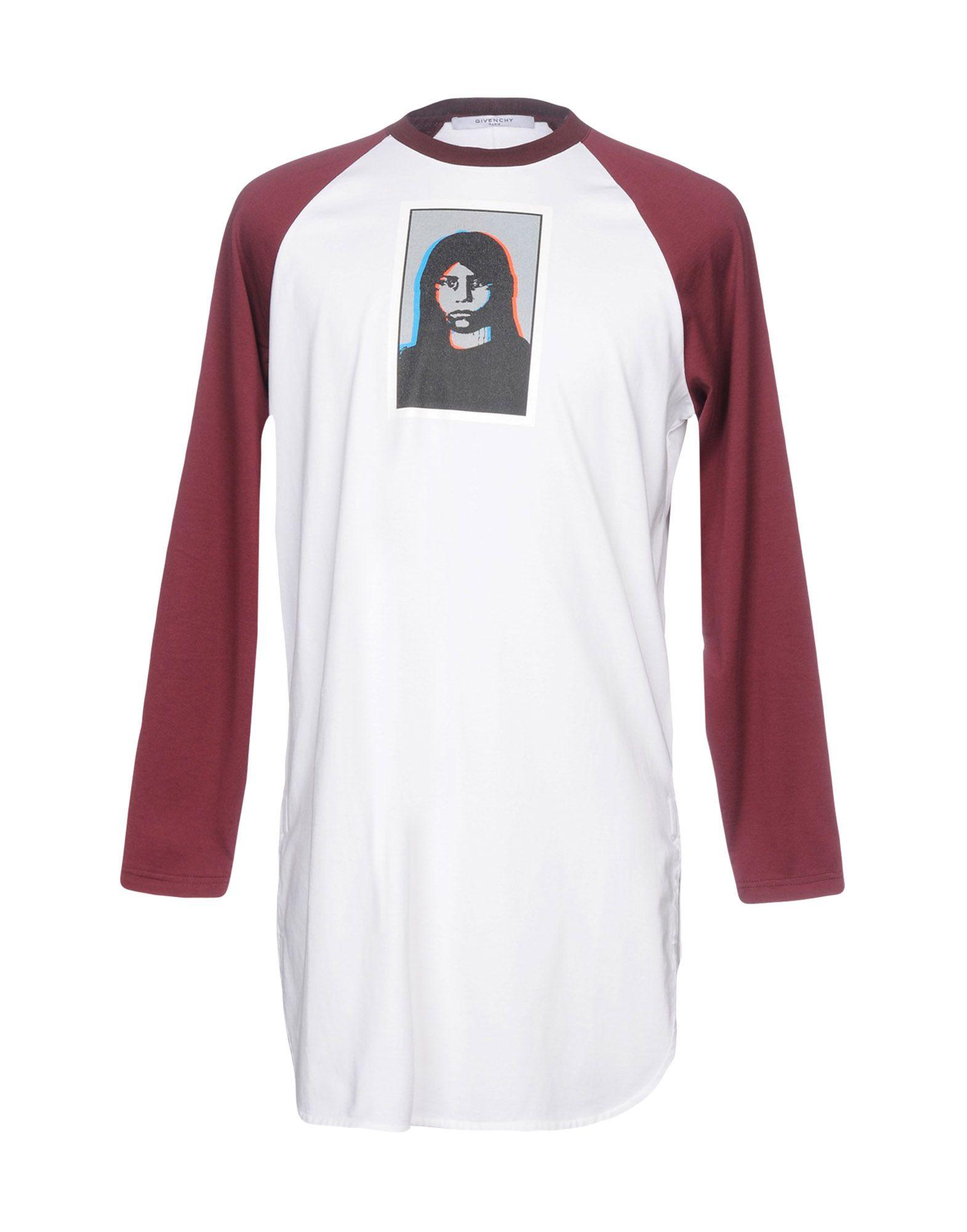GIVENCHY Футболка футболка givenchy цвет серый