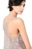 ALBERTA FERRETTI Top in silk tulle with sequins TOPWEAR Woman a