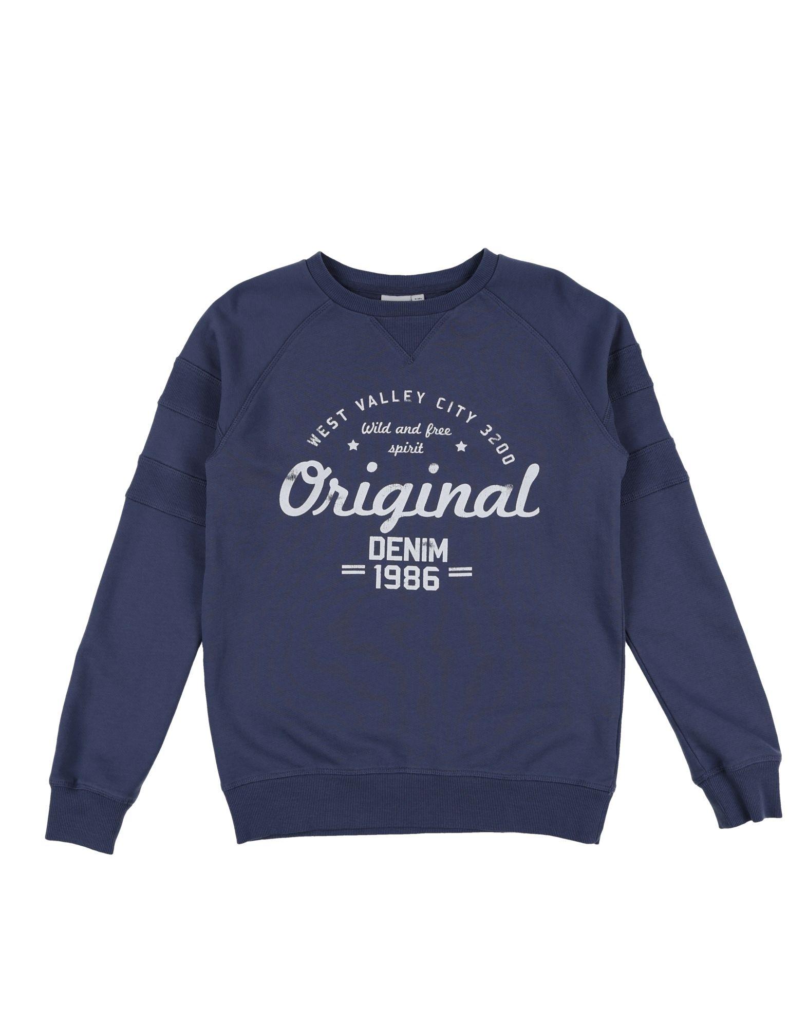 《送料無料》NAME IT? ボーイズ 9-16 歳 スウェットシャツ ブルーグレー 9 コットン 100%