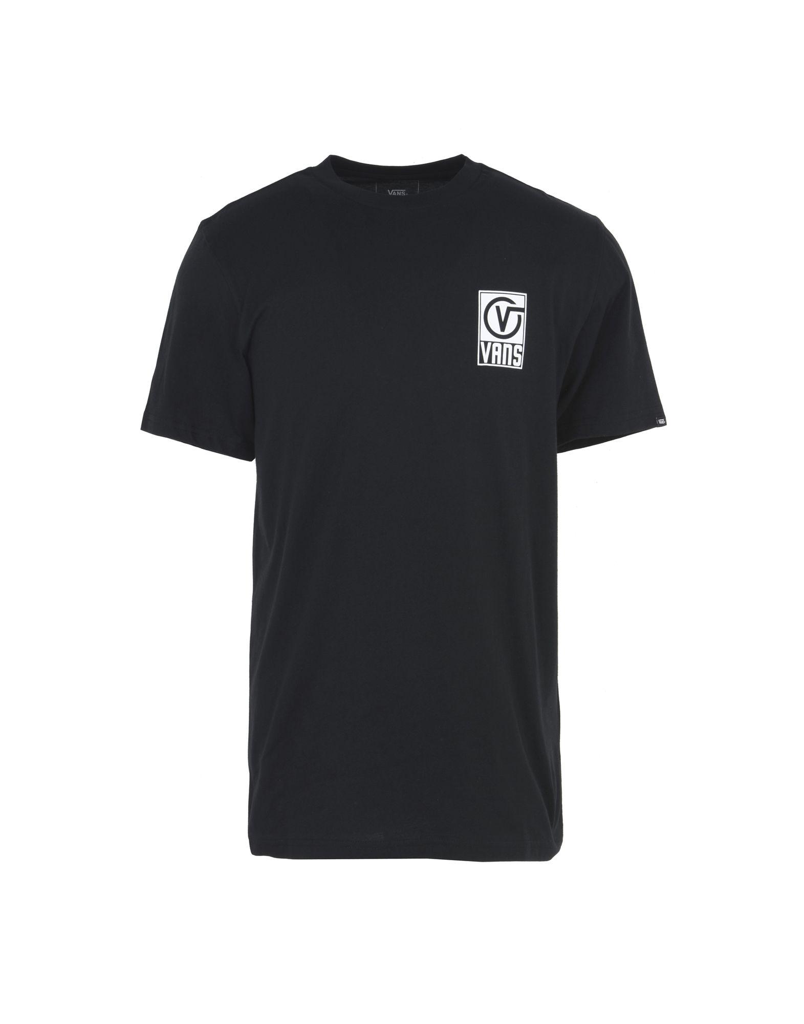 《送料無料》VANS メンズ T シャツ ブラック S コットン 100% VANS WORLDWIDE