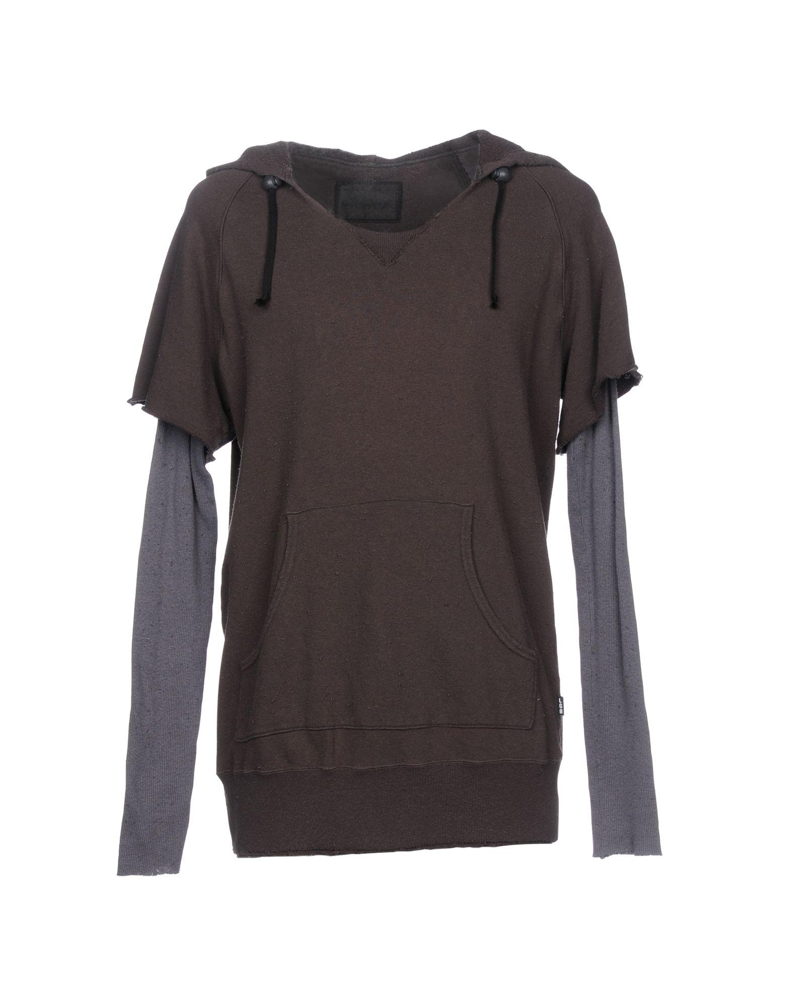 L.G.B. Hooded Sweatshirt in Dark Green