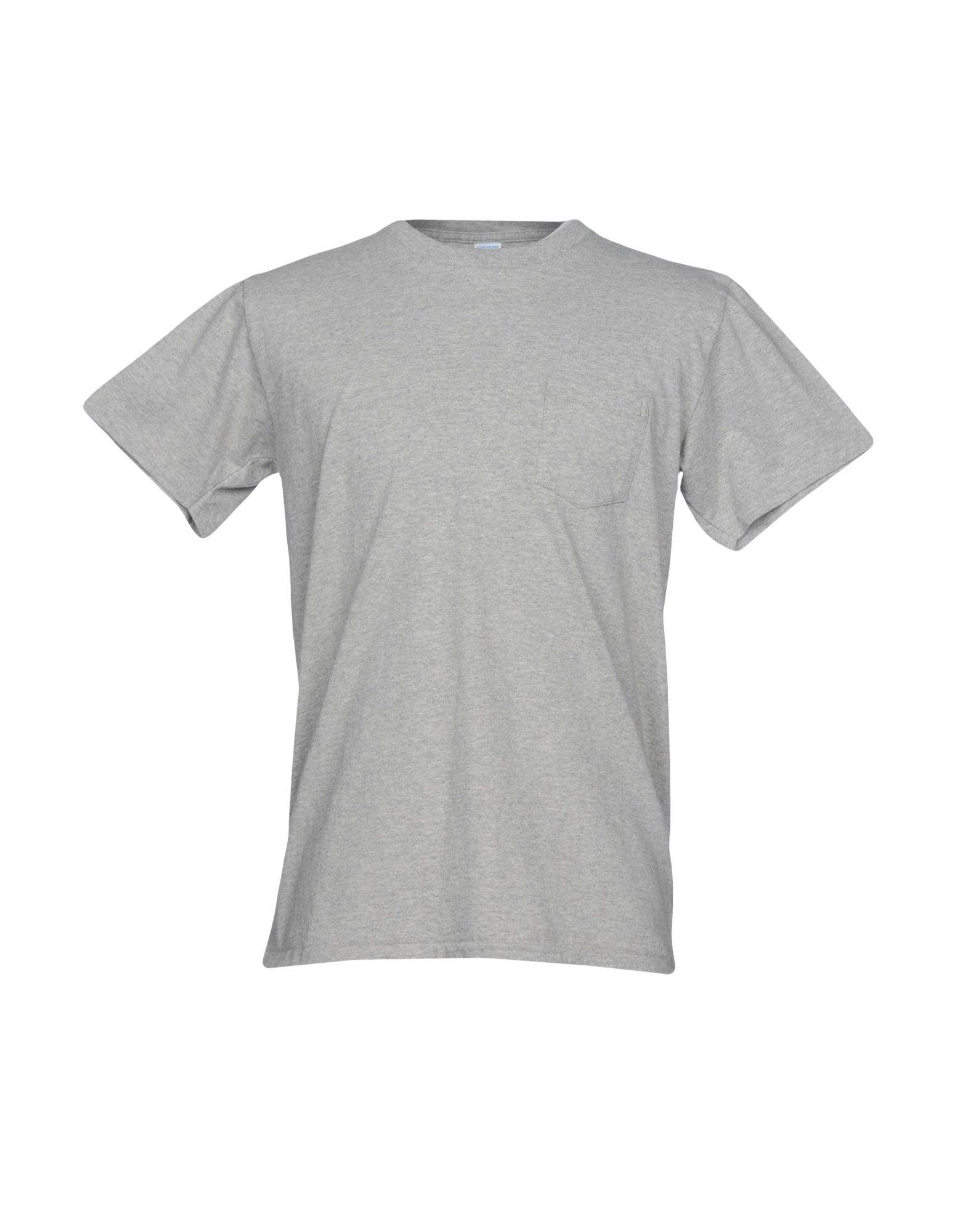 VELVA SHEEN T-Shirt in Light Grey