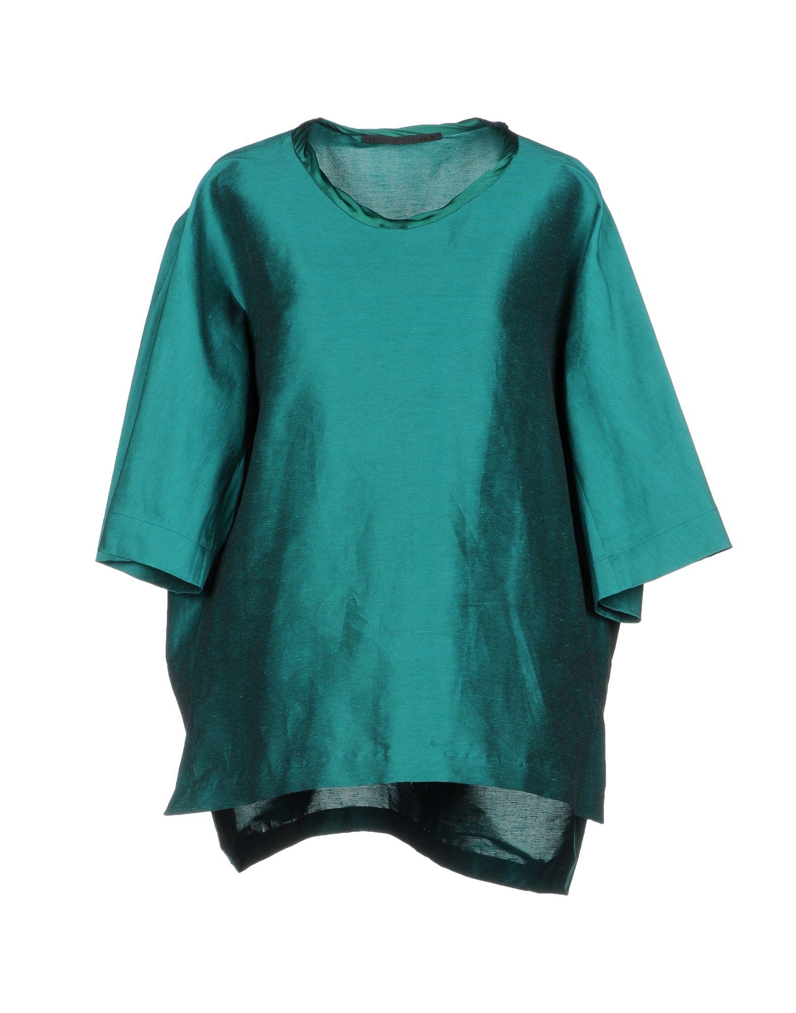 927700ae515025 Haider Ackermann Blouse In Emerald Green | ModeSens