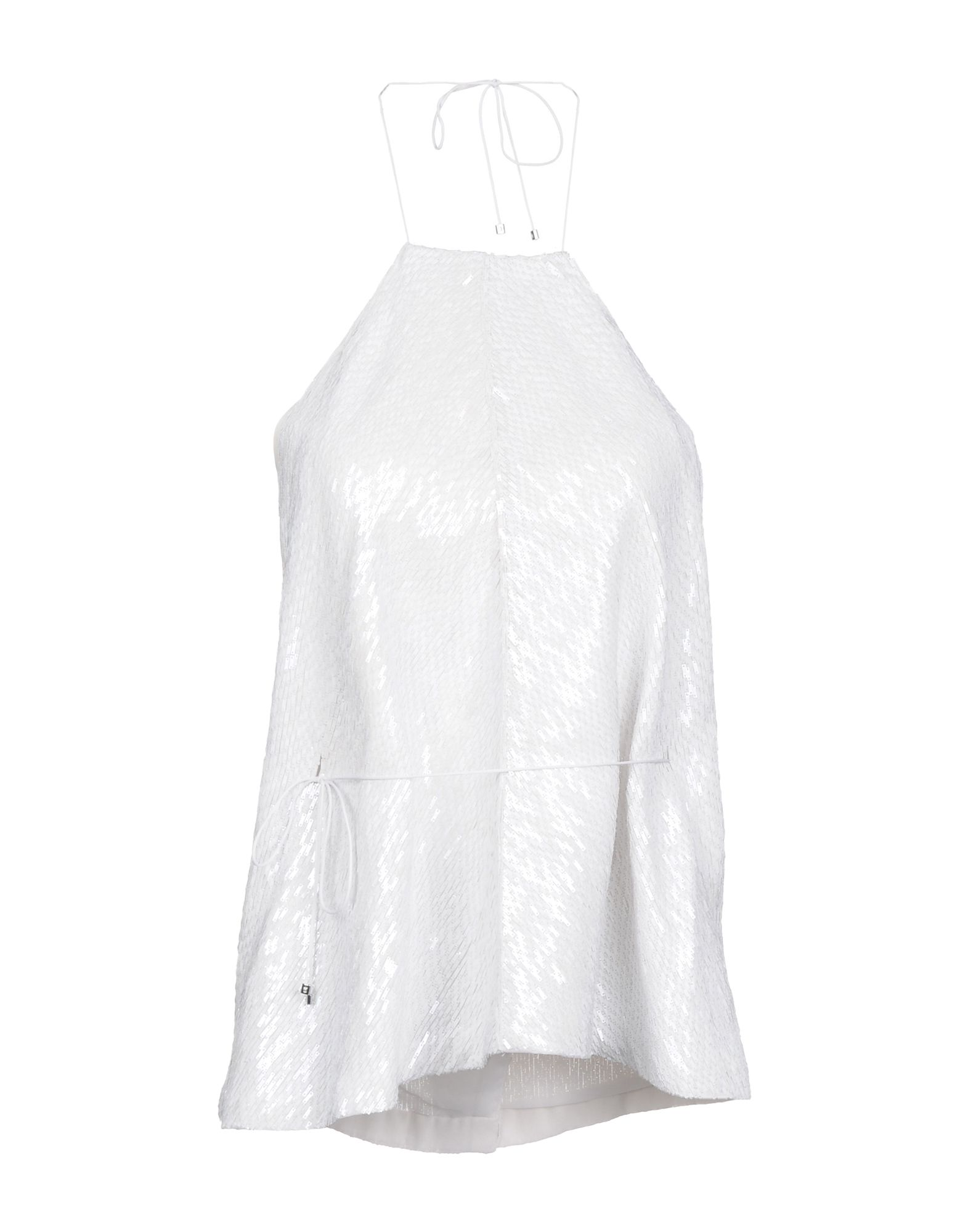 KAUFMANFRANCO Silk Top in White