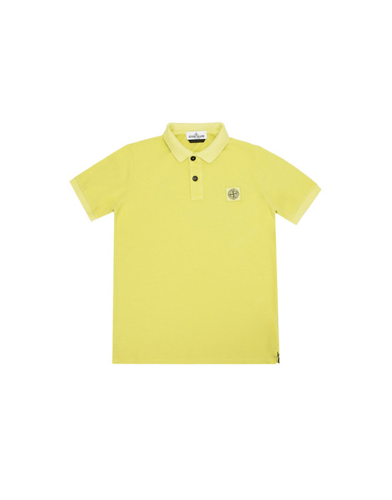 STONE ISLAND JUNIOR Polo shirt 20949 PIGMENT DYE