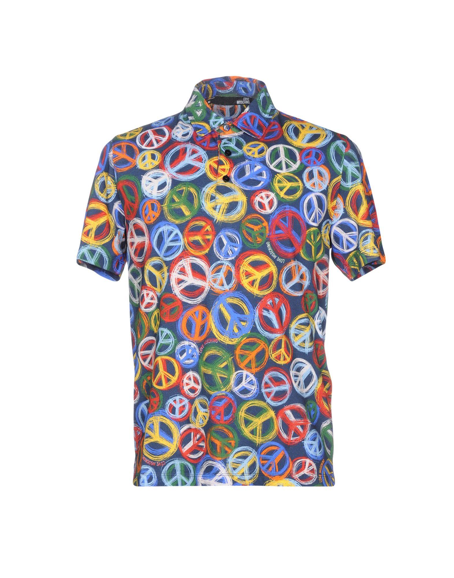 LOVE MOSCHINO Поло рубашка поло love moschino рубашка поло
