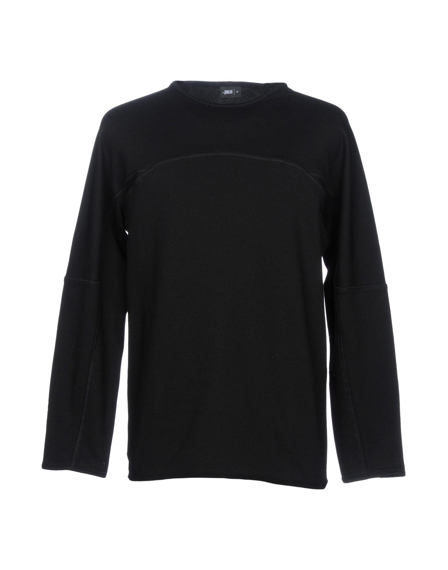 PUBLISH Sweatshirt in Black