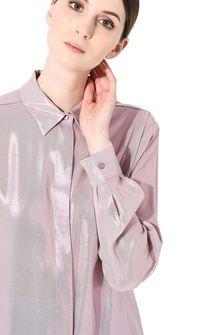 ALBERTA FERRETTI Camicia in lamé rosa CAMICIA Donna a