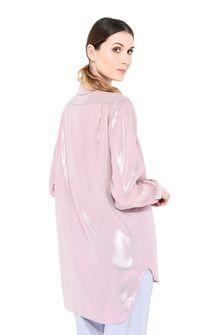 ALBERTA FERRETTI Camicia in lamé rosa CAMICIA Donna d