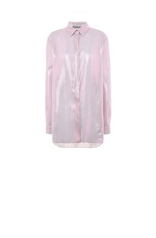 ALBERTA FERRETTI Camicia in lamé rosa CAMICIA Donna e