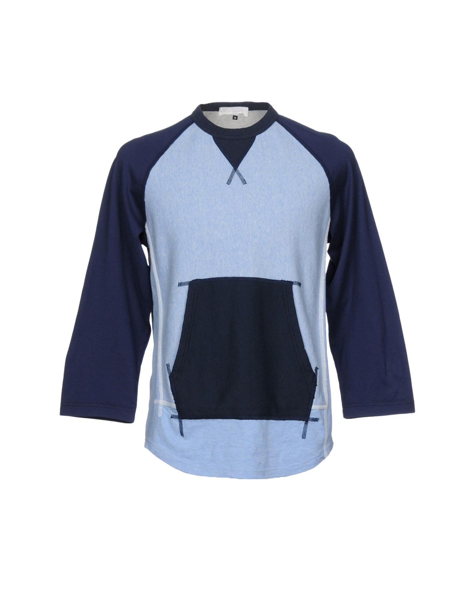 GANRYU Sweatshirt in Sky Blue