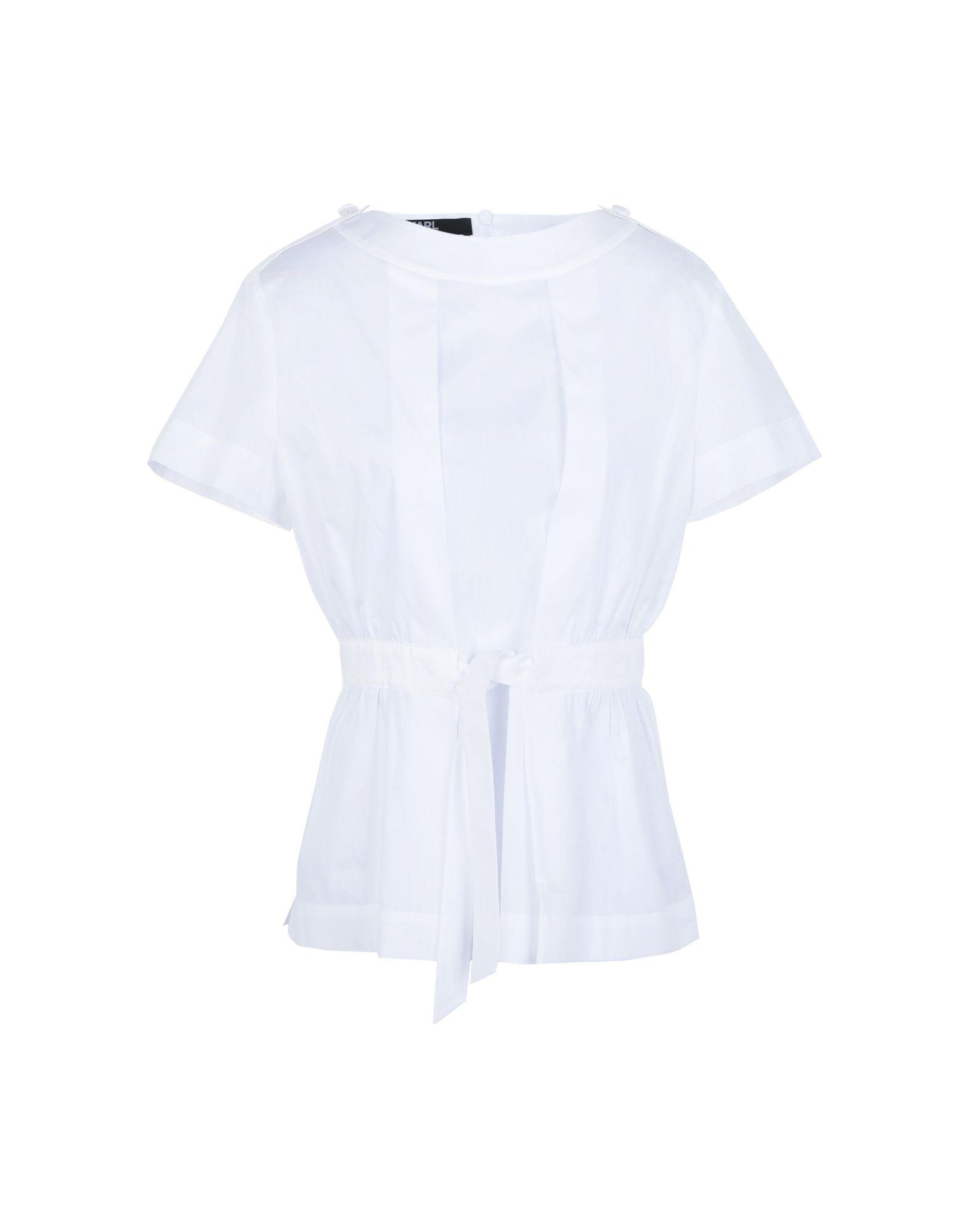 купить KARL LAGERFELD Блузка по цене 10350 рублей