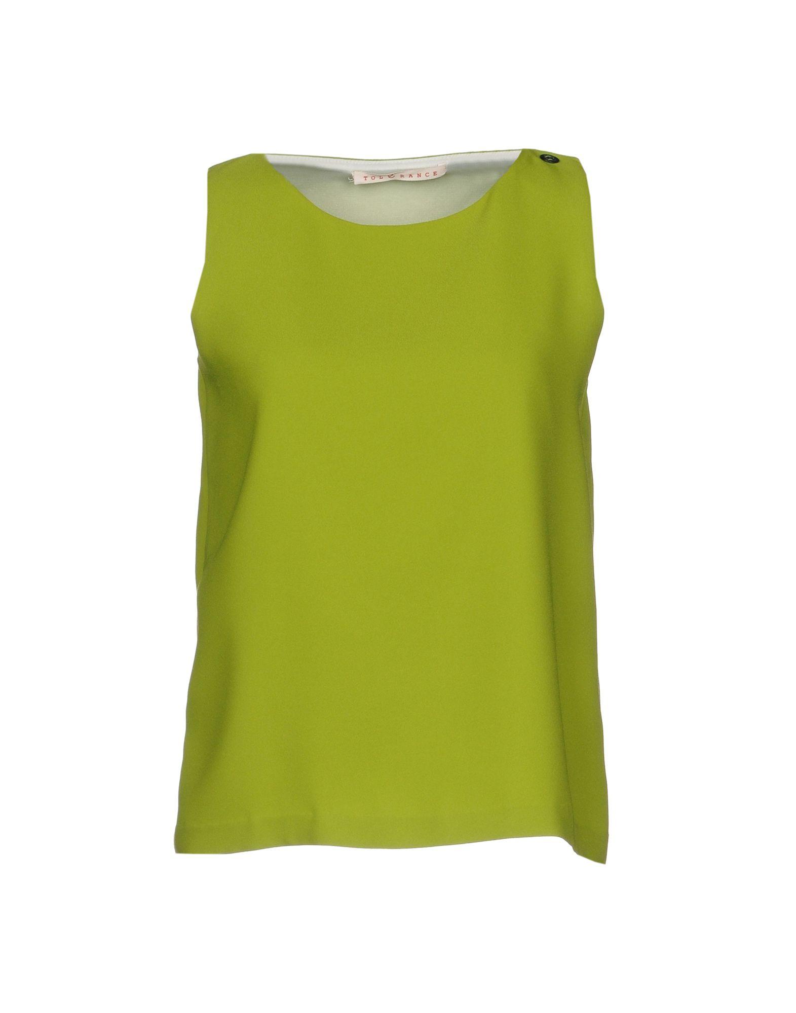 TOLÈRANCE Топ без рукавов tolèrance блузка