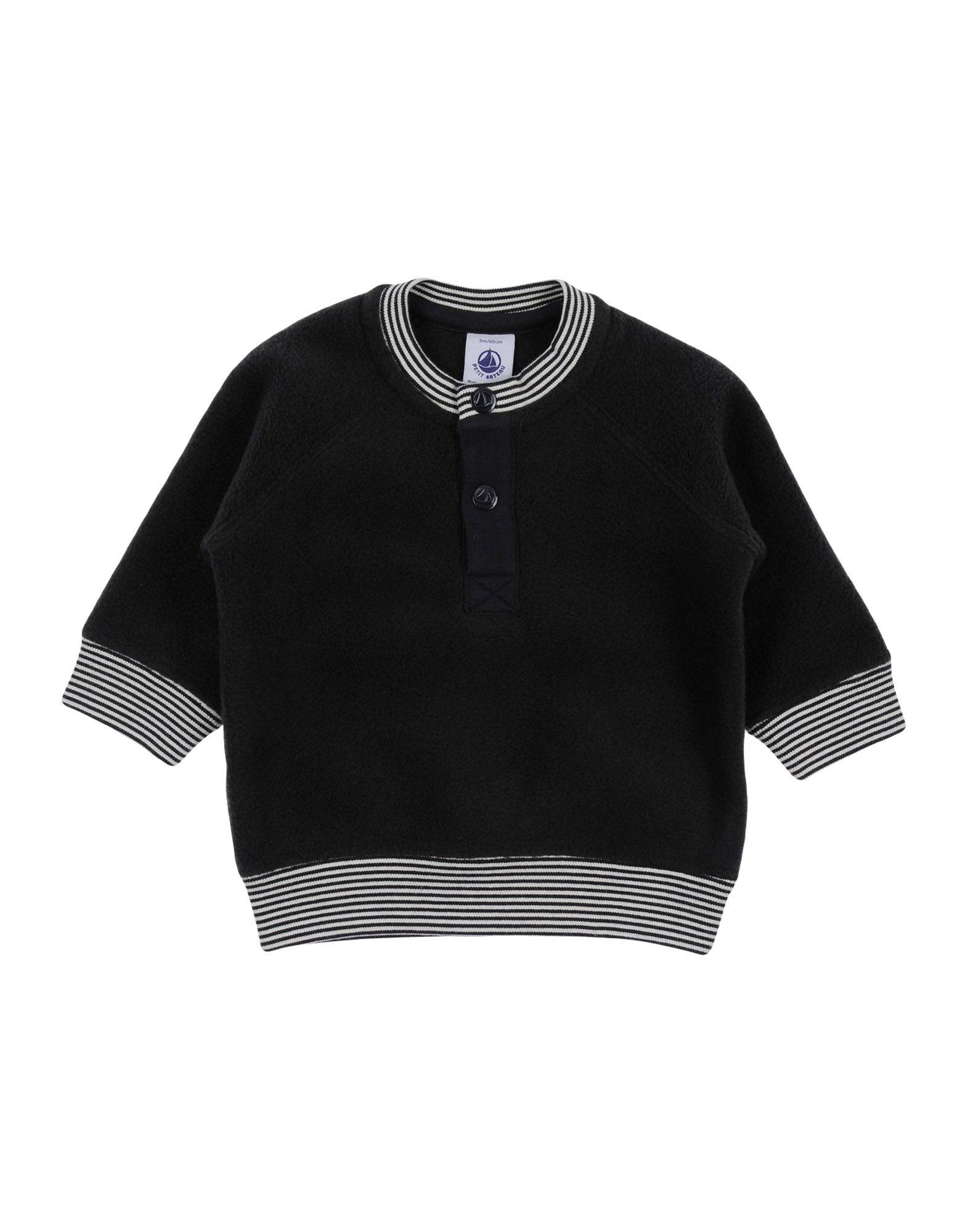 PETIT BATEAU Sweatshirt in Lead