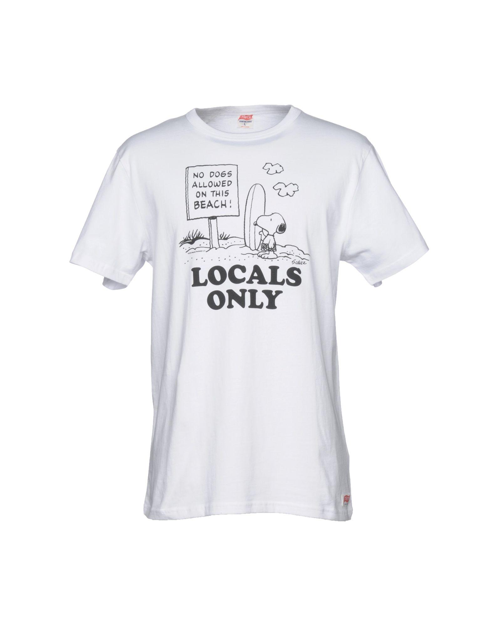 TSPTR T-Shirt in White