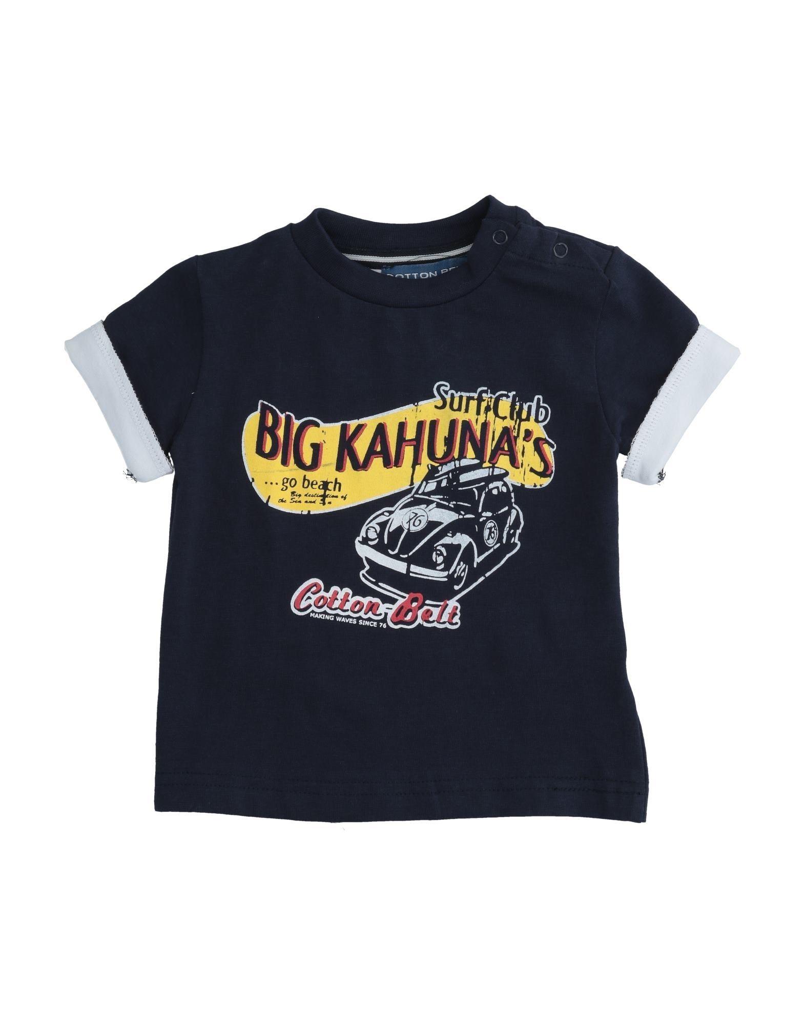 Cotton Belt Kids' T-shirts In Blue