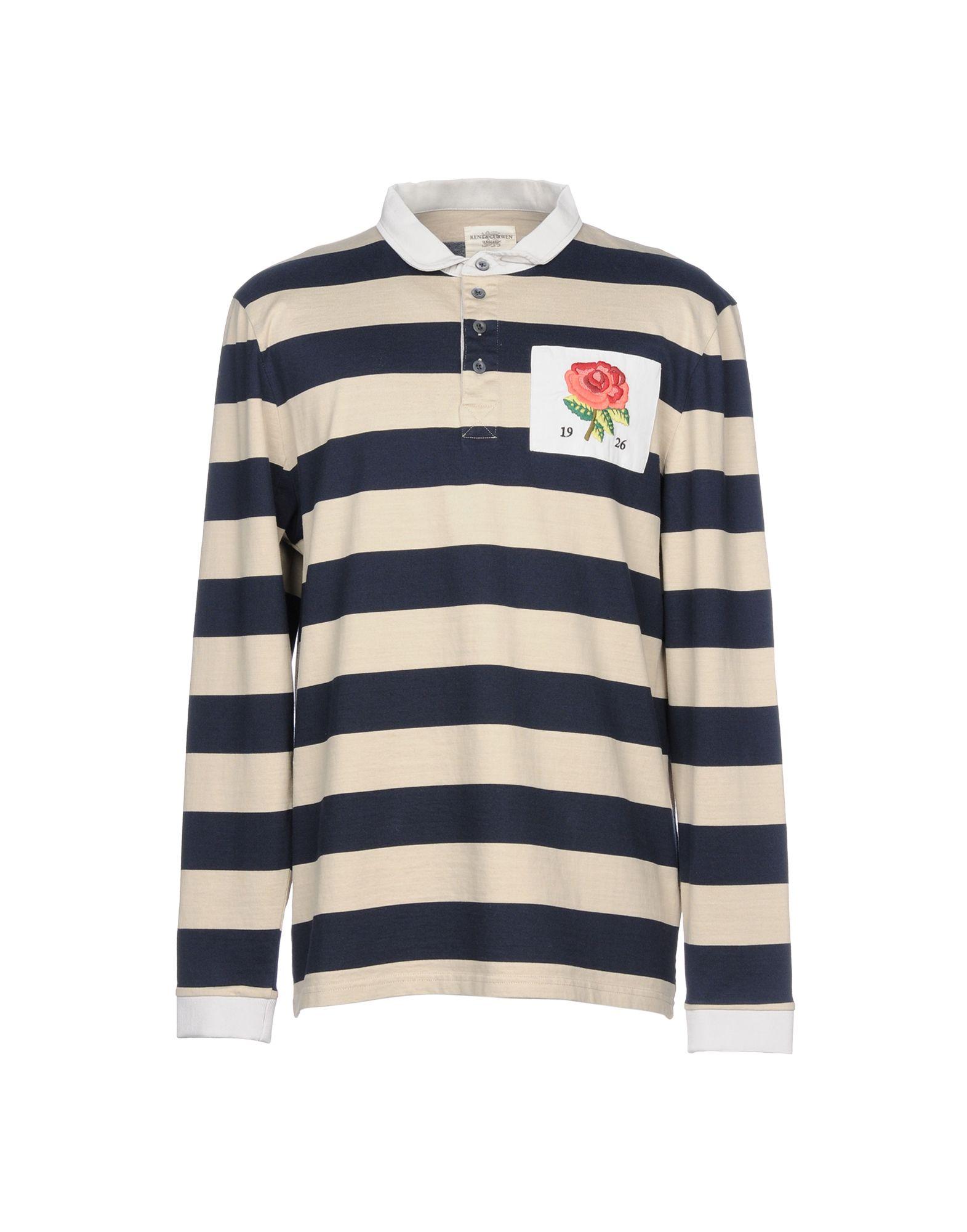 《送料無料》KENT & CURWEN メンズ ポロシャツ ベージュ XL コットン 100%