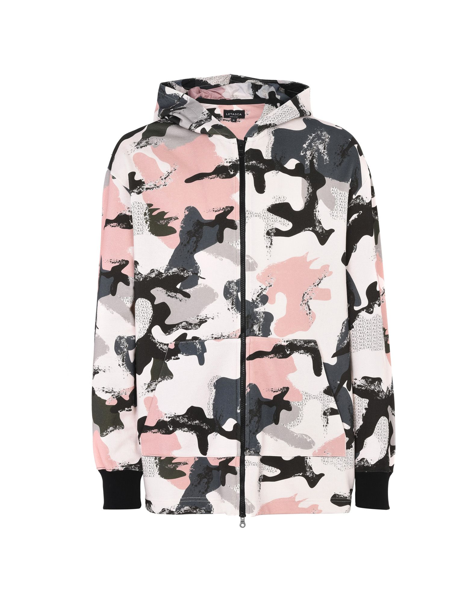 LETASCA Hooded Sweatshirt in Pink