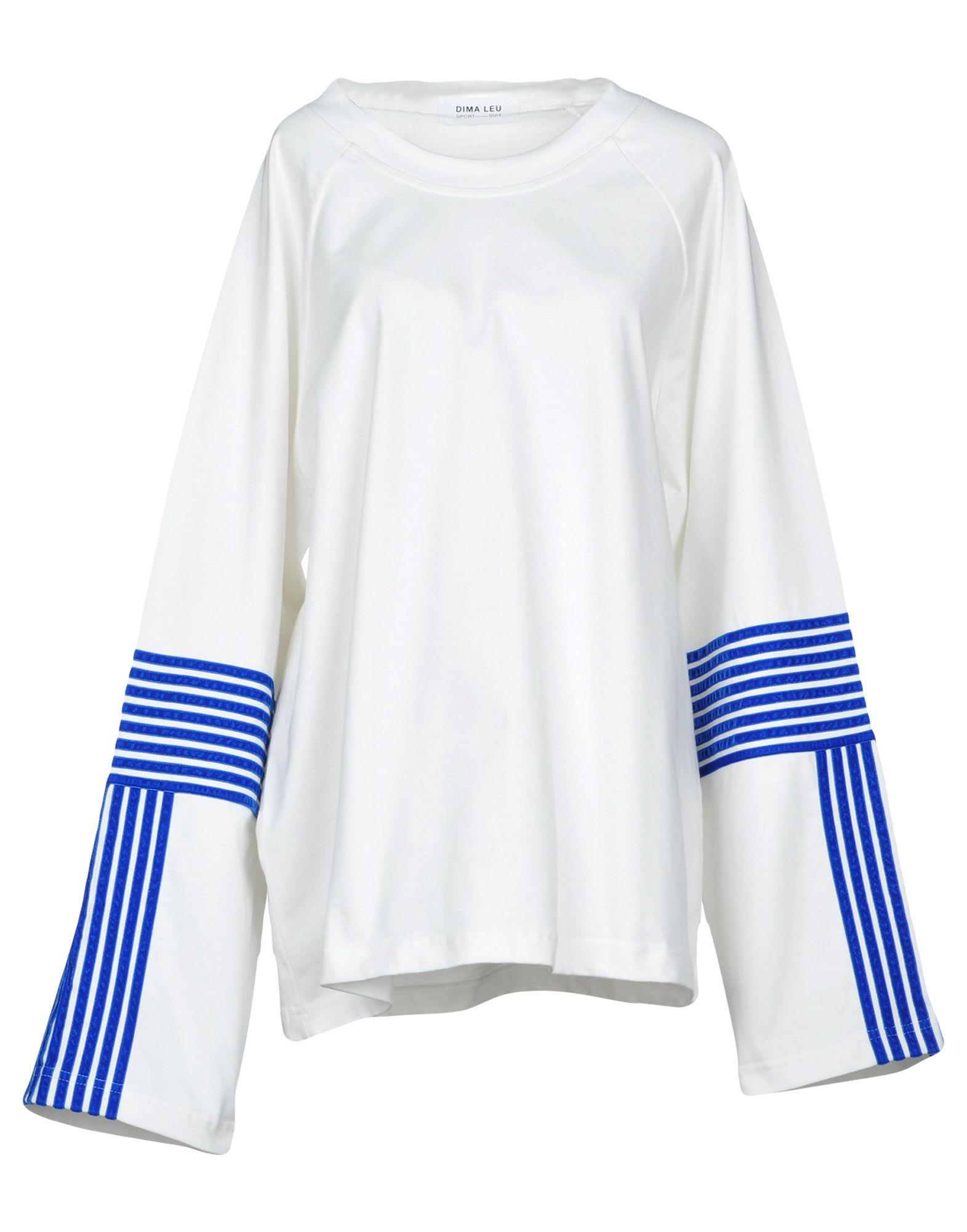 DIMA LEU Sweatshirt in White