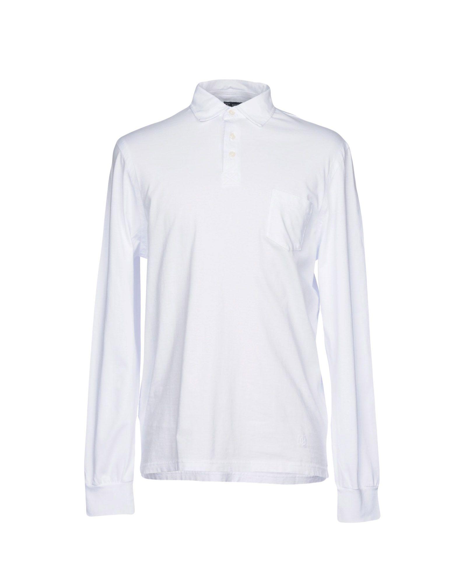 BREUER Polo Shirt in White