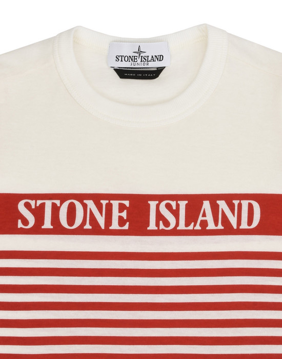 12175008dm - Polo - T-Shirts STONE ISLAND JUNIOR
