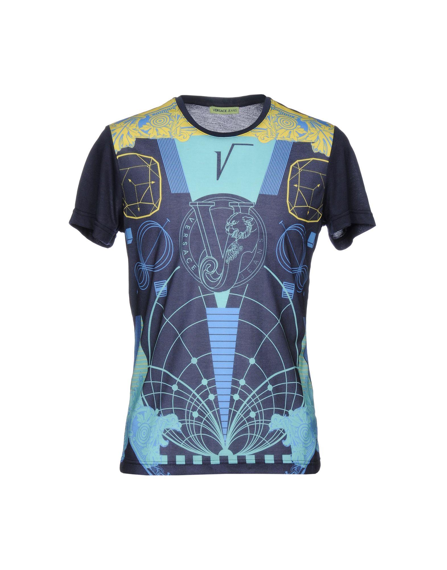 VERSACE JEANS Футболка футболка versace разноцветный